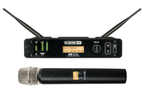 Front view of Line 6 Digital Wireless Microphone