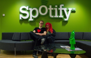 Couple at Spotify